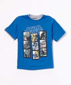 Look at this #zulilyfind! Blue Photo Booth Tee - Boys #zulilyfinds