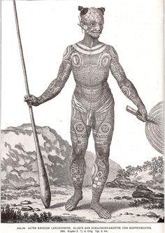Alter Krieger, Pacific Destinations, Africa People, Estilo Hippie, Street Art Graffiti, Body Modifications, Beautiful Tattoos, Body Painting, Tribal Tattoos