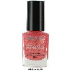 Quinta's Boutique: Glitter Nagellak Roze 04 5,95 Perfume Bottles, Nail Polish, Nails, Beauty, Finger Nails, Ongles, Nail Polishes, Perfume Bottle, Polish