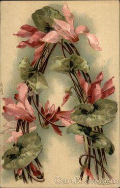 Alphabet A 7 das Artes: Catherine Klein - Alfabeto de Flores. For Albert Abigail and Anabelle Catherine Klein, Flower Alphabet, Alphabet Art, Alphabet And Numbers, Spanish Alphabet, Preschool Alphabet, Alphabet Crafts, Vintage Diy, Vintage Cards
