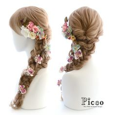 "Gallery95 Order Made Works Antique Rapunzel Style Hair Accessory for SOTSUGYO-SHIKI ""Picco"" http://picco-flower.com/ #ラプンツェル #スタイル の #アンティーク 風 #髪飾り #オーダーメイド #卒業式 #custommade #original #hair #hairdo #disney #dress #rapunzel #wedding #bridal #party #event #headdress #結婚式 #ブライダル #ウェディング #花嫁 #ドレス #イベント #ヘアアレンジ #パーティー #オリジナル #ディズニー #picco"