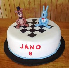 (1) Volovan Productos (@VolovanProducto) | Twitter #Freddy_five_nights_at_freddys #fondant #cake by Volován Productos  #instacake #Chile #puq #VolovanProductos #Cakes