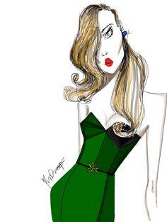 Yvan Deng fashion illustration