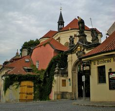 I wish I was headed to the monastery to meet friends for a beer tonight. #Prague