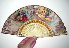 Vintage Hand Fan.