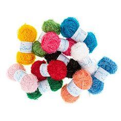 Rellana Wolle Funny Scrub - Schwammgarn online kaufen   buttinette Bastelshop Knitting Yarn, Baby Knitting, Felt Ball, Free Gifts, Dog Food Recipes, Jewelry Making, Crafty, Color, Decoration Party