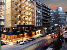 How to find affordable accommodation in Greece? Attica Athens, Athens Greece, Athens Hotel, Savoy Hotel, Greece Hotels, Hotel Reviews, Tourism, Multi Story Building, Street View