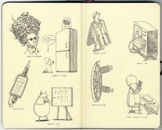 Sketchbook 24 by Mattias Adolfsson, via Behance