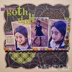 Layout: Goth Doll