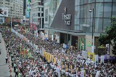 Hong Kong resiste aceitar democracia fajuta do regime chinês | #China, #Comunismo, #Democracia, #HongKong, #Liberdade, #MartinMurphy, #SufrágioUniversal