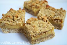 Buttery Caramel Oat Slice is a soft oat base and top with a thick layer of buttery caramel sandwiched in between. This is one of my favourite all time recipes and I get requests for this all the time! Baking Tins, Baking Recipes, Healthy Recipes, Oat Slice, Caramel Bars, Oat Bars, Golden Syrup, Base Foods, Tray Bakes