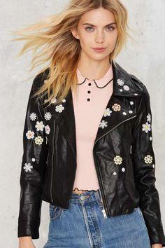 Goldie Daisy Babe Moto Jacket