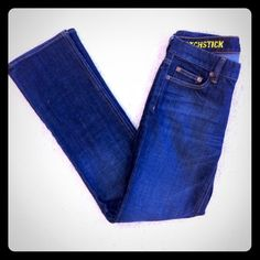 """Matchstick Bootcut Jean 98% Cotton; 2% Spandex  •Size: 27 short  •Dark Wash  •Low Rise  •Boot Cut •Waist: 14"""" (laying flat) •Length: 37.5"""" •Inseam: 28"""" •Front Rise: 8"""" •Leg Opening: 8"""" •Pockets & Closure: Zip-up front with single button closure; 2 front pockets with small change pocket, 2 rear pockets with embroidered detail  No wear on bottom hem (never worn)  ❌No Trades NWOT Lower the price by bundling! J. Crew Jeans Boot Cut"""