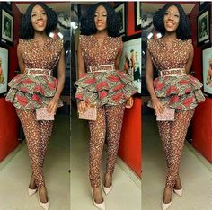 African Jumpsuit: 27 Latest Ankara Jumpsuit Styles (Updated) It's time for some African Jumpsuit, or otherwise, some beautiful Ankara jumpsuit styles 2019 loved :) Every woman loves Fashion and especially when you ca African Attire, African Wear, African Women, African Dress, African Jumpsuit, Ankara Jumpsuit, Ankara Dress, African Print Fashion, African Fashion Dresses