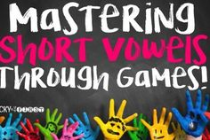 Mastering Short Vowels with Games