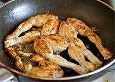 Fried Frog Legs with Lemon-Garlic Sauce recipe