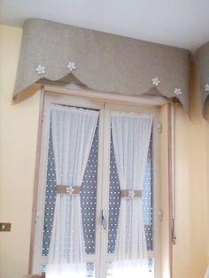 Risultati immagini per mantovane per tende da cucina | tende ...