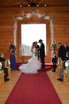 Angels View Wedding Chapel In The Smoky Mountains