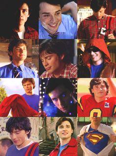 Smallville- Clark Kent from high school to Superman. Smallville Clark Kent, Tom Welling Smallville, Lois E Clark, Smallville Quotes, Chloe Sullivan, Dc Comics, Outlander, Reign, Allison Mack