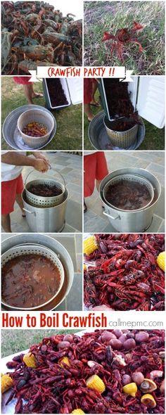 Cajun Crawfish Party | How to Boil Crawfish
