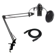 MXL 770 Condenser Microphone with Knox Suspension Boom  $99