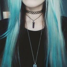 покрасить волосы мелками
