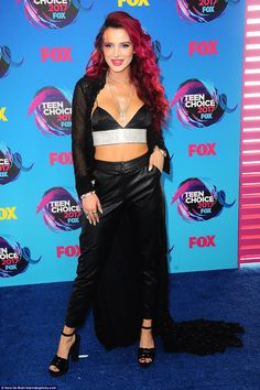 1da27ccfb7 No better! Bella Thorne seemed like she couldn t decide between Glam Rock or