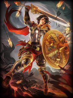Bellona - Goddess of War SMITE Standard Skin