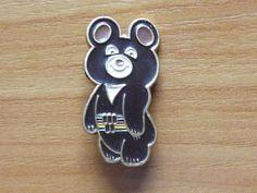 Medal USSR Olympics, Olympic Bear, Moscow 10 | eBay