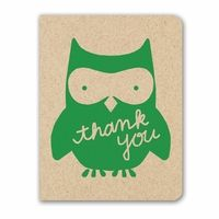 You can never have too many thank you notes and these owls are cute! #stationery, #notecard, #owl, #thankyou