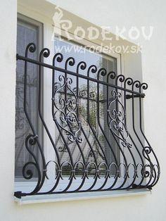 Modern Outdoor Grills, Door Design, Exterior Design, Burglar Bars, Iron Windows, Window Grill, Modern Windows, Balcony Railing, Grill Design