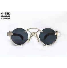 Hi Tek London Unique Alternative Sunglasses Flat Lens Design Frame / These are fabulous