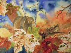 Title:  Changing Of The Seasons   Artist:  Ellen Levinson   Medium:  Painting - Watercolor