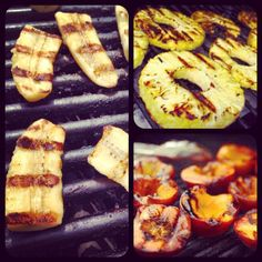 EAT: Grilled Fruit with Caramelized Orange Sauce
