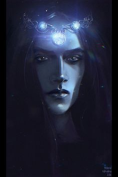 Silmarils of Feanor, Helena Nikulina on ArtStation at https://www.artstation.com/artwork/8o0nx