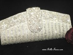 Swarovski crystal purse