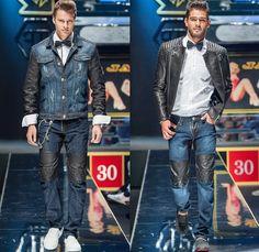 Philipp Plein 2014 Spring Summer Mens Runway Collection - Milan Italy Catwalk Fashion Show: Designer Denim Jeans Fashion: Season Collections, Runways, Lookbooks and Linesheets