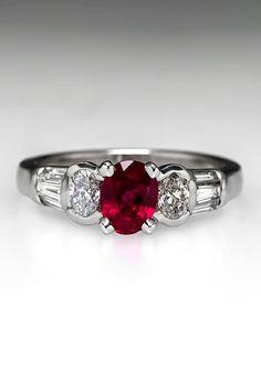 Ruby Engagement Rings from EraGem