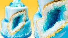 How to Make a Geode Cake (Geode Wedding Cake)