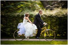 Another option: Take a ride on a bicycle built for two.Photo Credit: Hoffer Photography