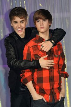 I want to meet Justin and his brother Ryan