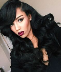 Shop Best Human Hair Wigs for Black Women,Lace Wigs for African American with Factory Cheap Price, DHL Worldwide Shipping,Big Promosion and Store Coupons Available Love Hair, Gorgeous Hair, Beautiful Body, Weave Hairstyles, Pretty Hairstyles, Hairstyle Ideas, Straight Hairstyles, Lace Front Wigs, Lace Wigs