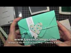 Envelope Punch Board: Card Box Tutorial