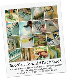 "Doodle, Too ""Life is Good"" Online Class"