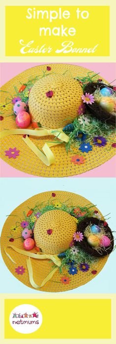 If you& up for creating something beautiful (or bonkers) with your little one, we& got some brilliant Easter bonnet ideas to help you get started. Chicks and mini-eggs at the ready . Crazy Hat Day, Crazy Hats, Easter Bonnets For Boys, Easter Crafts For Kids, Easter Hat Parade, Diy Ostern, Boyfriend Crafts, Mini Eggs, Easter Bunny Decorations
