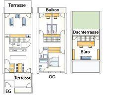 die besten 25 reihenhaus grundriss ideen auf pinterest doppelhaus bauen doppelhaus. Black Bedroom Furniture Sets. Home Design Ideas