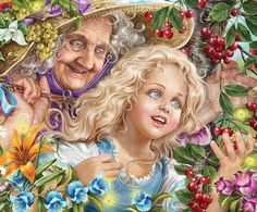 Иллюстрации к сказкам. Автор: Инна Кузубова.