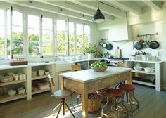 Farmhouse Style: Modern French Farmhouse {Eleanor Cummings} - Hello Lovely