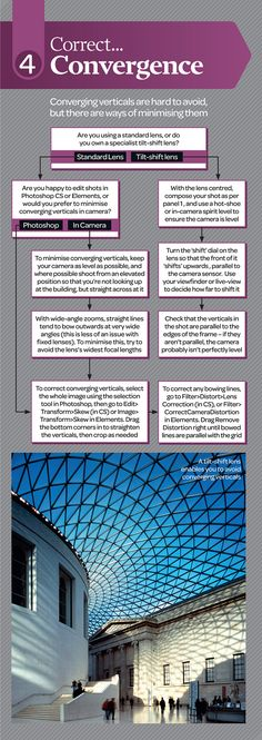 Free Architecture Photography Cheat Sheet - Part 4