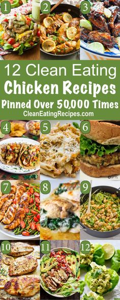 Best Clean Eating Chicken Recipes